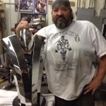 Shane Hawkins large trophy