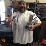 Shane Hawkins small trophy